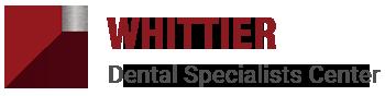 Whittier Dental Specialty Center logo.